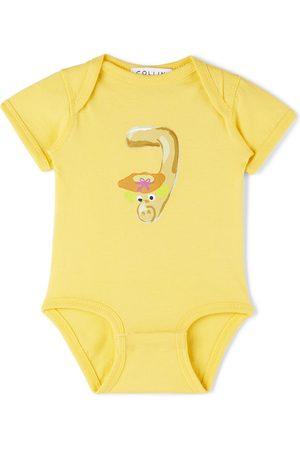 Collina Strada SSENSE Exclusive Baby Worm Printed Bodysuit