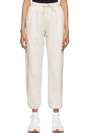 Citizens of Humanity Off-White Fleece Laila Casual Lounge Pants