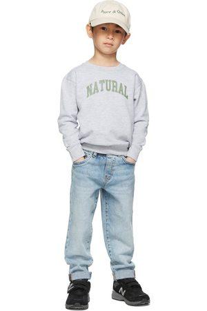 Museum of Peace & Quiet SSENSE Exclusive Kids Grey 'Natural' Little Kids Sweatshirt
