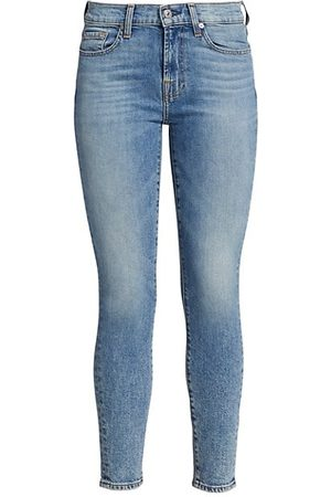 7 for all Mankind Women Skinny - Luxe Vintage Wash Skinny Jeans