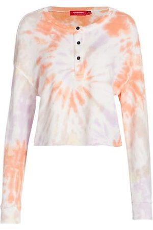 N:philanthropy Harleen Cropped Tie-Dye Sweatshirt
