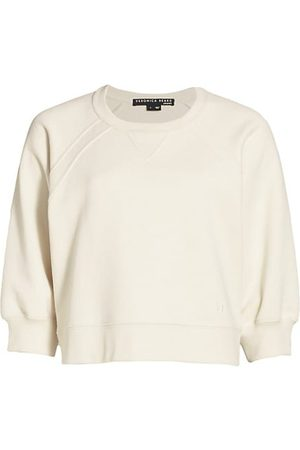 VERONICA BEARD Women Sweatshirts - Natti Crop Sweatshirt