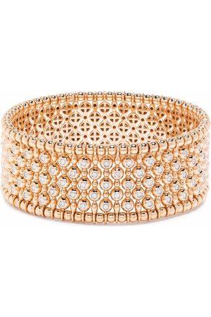 Pragnell Women Bracelets - 18kt rose gold Bohemia diamond wide bangle