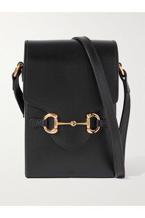 GUCCI Men Bags - 1955 Horsebit Leather Messenger Bag