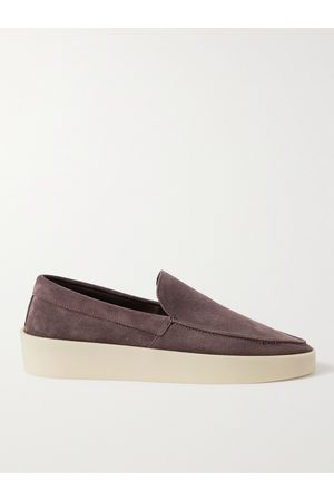 FEAR OF GOD Reverse Suede Loafers
