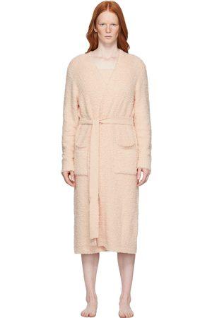 SKIMS Pink Cozy Knit Robe