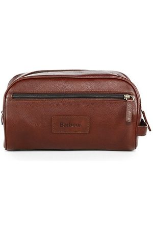 Barbour Men Luggage - Leather Wash Bag
