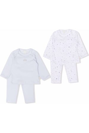 MARIE CHANTAL Two-piece cotton pajama set