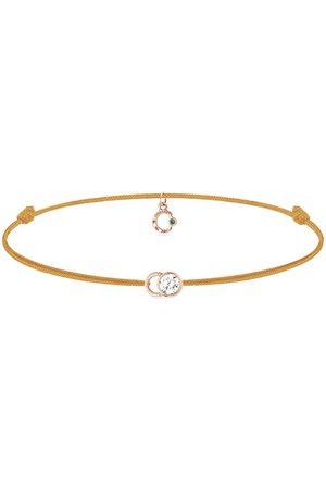 COURBET Women Bracelets - 18kt rose gold diamond Let's Commit bracelet