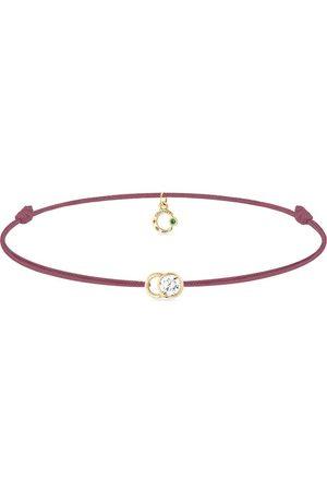 COURBET Women Bracelets - 18kt gold diamond Let's Commit bracelet
