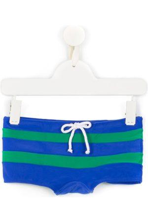 AMIR SLAMA Striped swim trunks