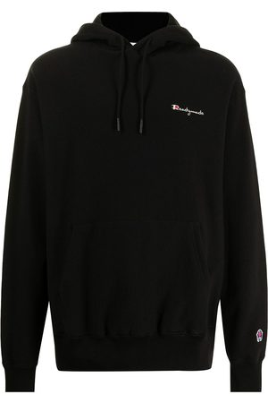 READYMADE Logo-embroidered hoodie