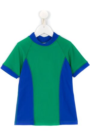 AMIR SLAMA Colour-block swimming T-shirt
