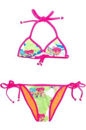 AMIR SLAMA Girls Bikinis - Graphic-print bikini