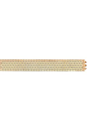 Pragnell Vintage 18kt yellow Art Deco diamond honeycomb bracelet