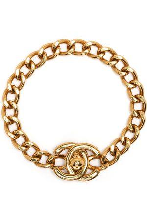 CHANEL 1996 CC turn-lock bracelet