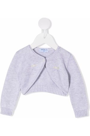 SIOLA Embroidered knitted cardigan