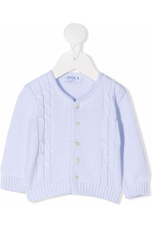 SIOLA Buttoned knitted cardigan