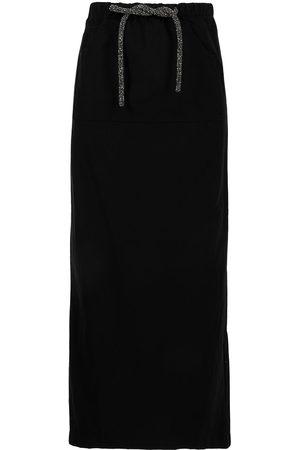 CHRISTOPHER ESBER Women Maxi Skirts - Crystal-embellished maxi skirt
