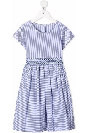 SIOLA Striped short-sleeve dress