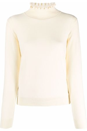See by Chloé Ruffle-collar cotton jumper