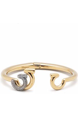 Salvatore Ferragamo Gancini bangle bracelet