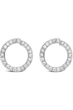 Pragnell 1911-1940 platinum Art Deco diamond circular stud earring