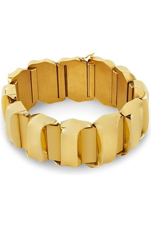Pragnell Vintage Women Bracelets - 18kt rose gold retro Scroll bracelet