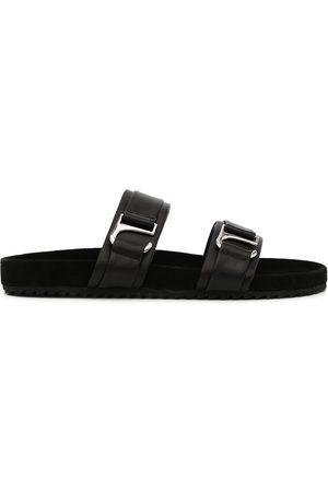 SENSO Dahlia Fern leather slides