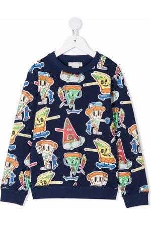 Stella McCartney Pizza Skaters graphic-print sweatshirt