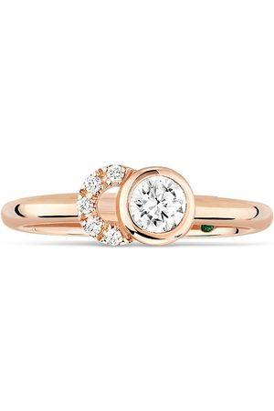COURBET 18kt rose gold CO diamond ring