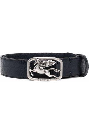 Etro Logo-plaque belt