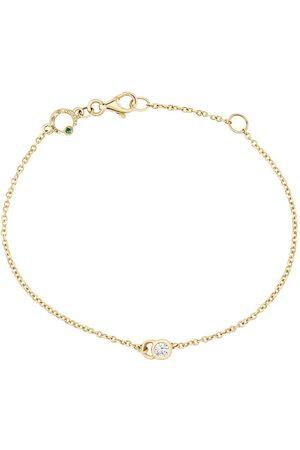 COURBET 18kt yellow diamond CO chain bracelet