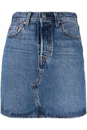 Levi's High-waisted denim skirt