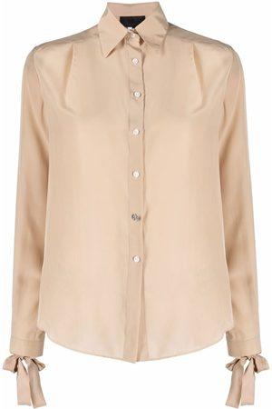 Philipp Plein Long-sleeve silk shirt
