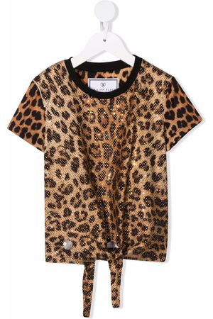 Philipp Plein Leopard-print T-shirt