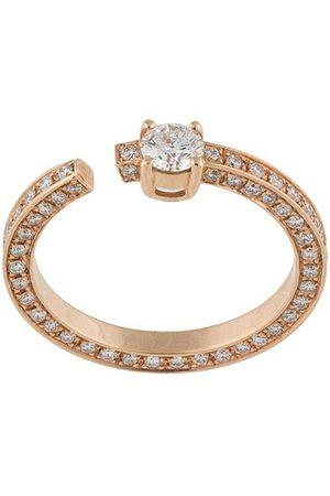 MAISON DAUPHIN Women Rings - 18kt rose full set diamond ring