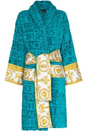 VERSACE I ♡ Baroque belted bathrobe