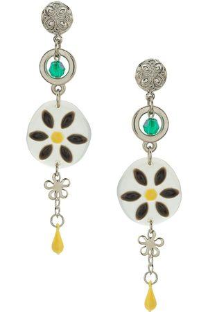 AMIR SLAMA Flower earrings