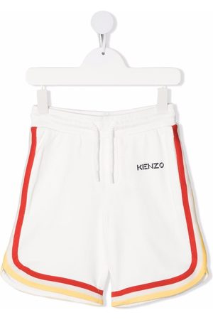 Kenzo Contrast-trimmed track shorts
