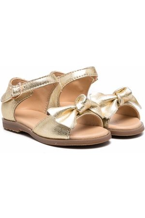 Age of Innocence Margo bow-detail sandals