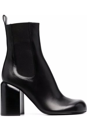 Jil Sander Almond-toe knee-high boots