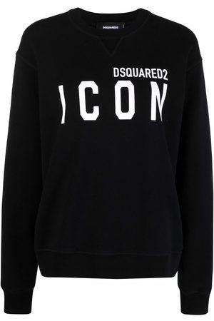 Dsquared2 Logo-print long-sleeved sweatshirt