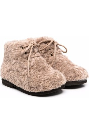 Age of Innocence Girls Ankle Boots - Teddy Jane faux-fur ankle boots