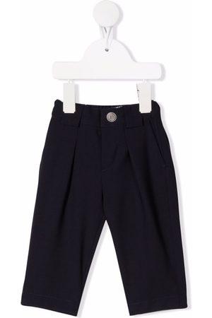 Balmain Baby Chinos - Tapered virgin wool-blend trousers