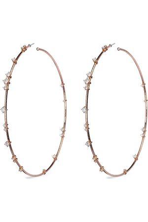 Mattia Cielo 18kt rose gold Rugiada diamond hoop earrings
