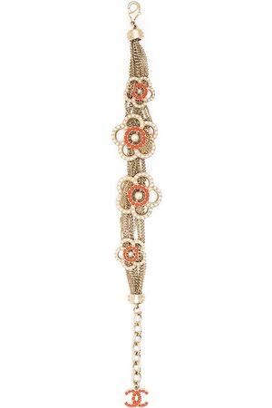 CHANEL Floral multi-chain bracelet