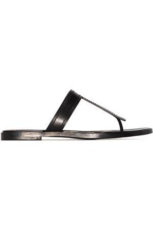 Tom Ford T F logo sandals