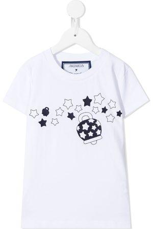 Simonetta Graphic-print cotton T-shirt