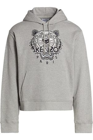 Kenzo Embroidered Cotton Tiger Hoodie